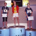 2 podiumplaatsen