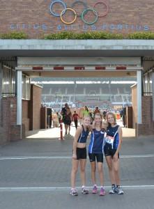 Foto bij Olympisch Stadion