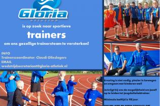 Afbeelding Gloria atletiek trainers gezocht